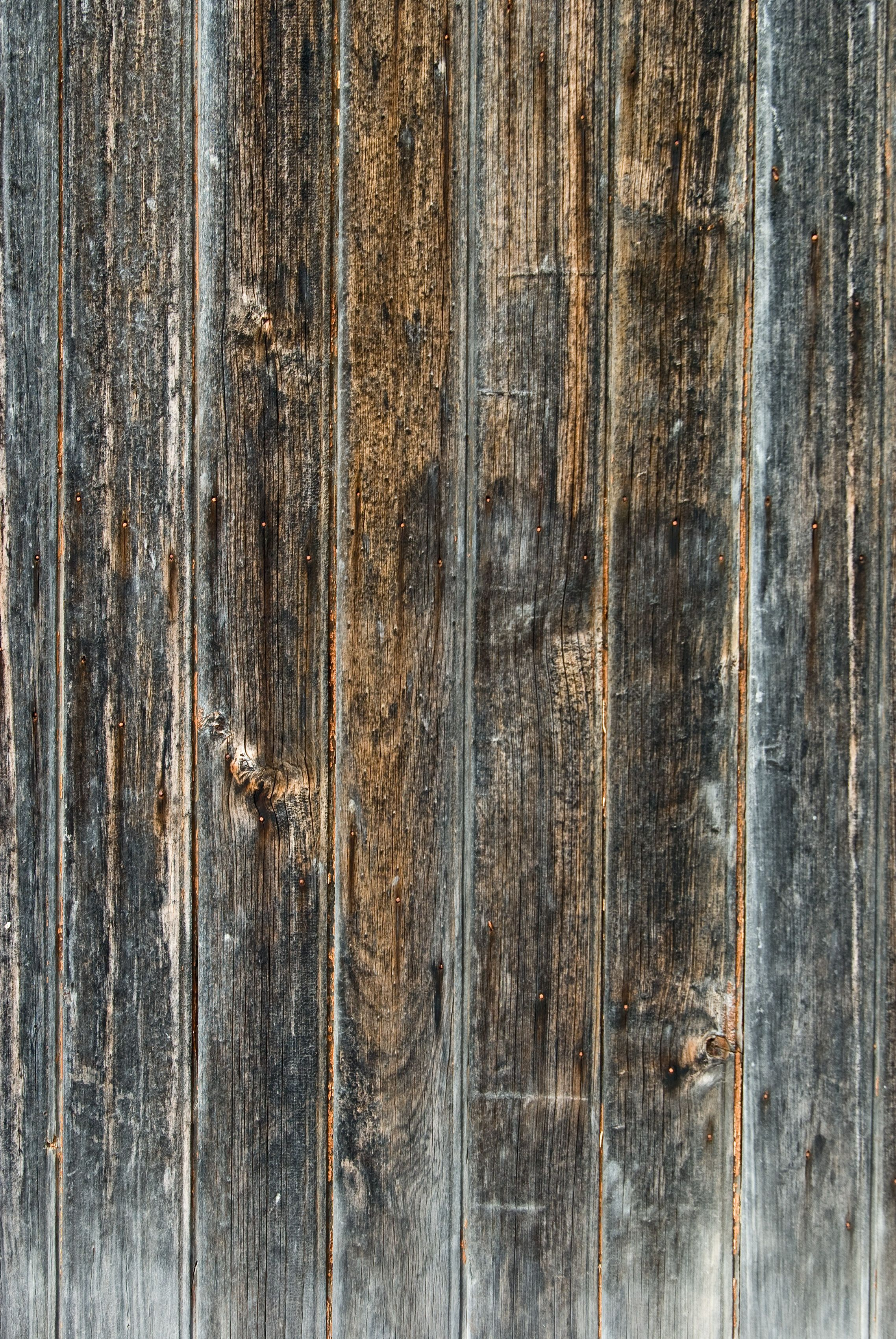 Old Wooden Fence Background Grunge Wood Fence Paling