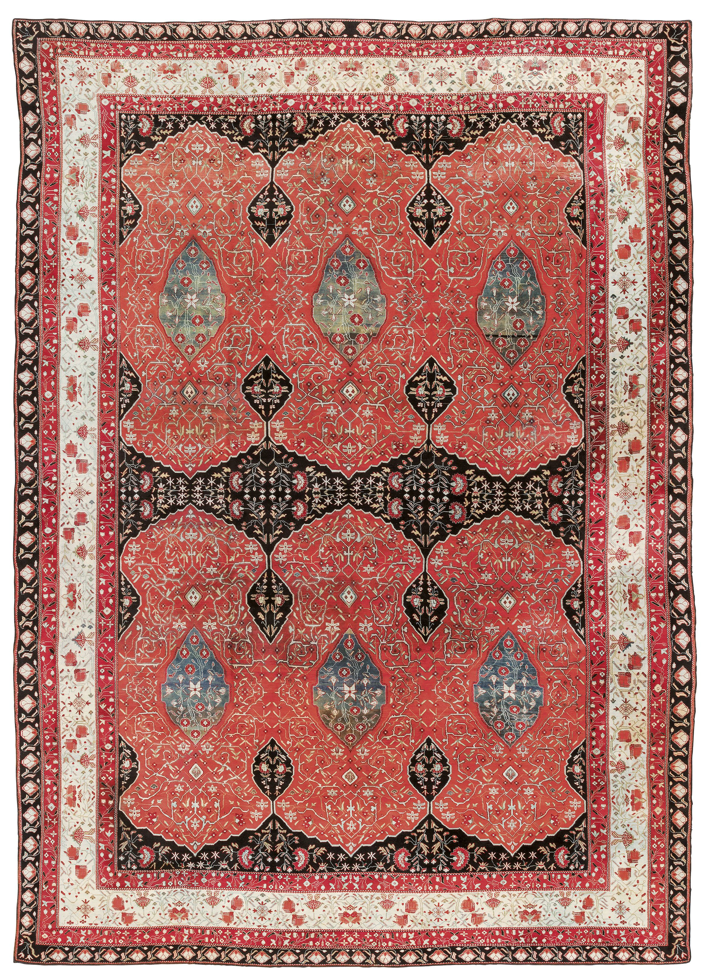An Agra Carpet North India Late 19th Century Overall Carpet Christie S In 2020 Tribal Carpets North India Carpet