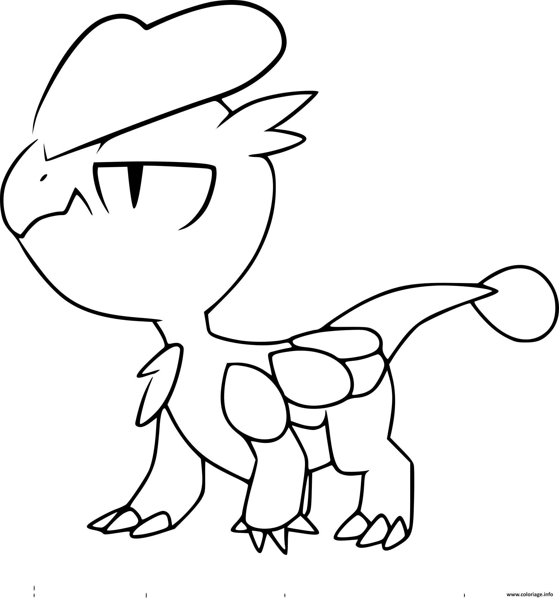 Coloriage pokemon xy bebecaille  imprimer et coloriage en ligne pour enfants Dessine les coloriages Pokemon Xy Bebecaille de dessin gratuit