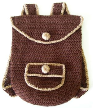 crochet backpack | Yay Crochet | Pinterest | Bags, Patterns and Search
