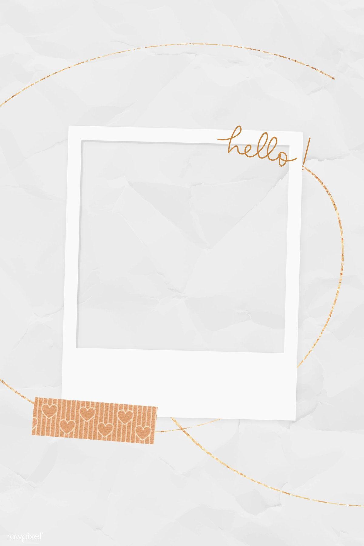 Download Premium Illustration Of Blank Collage Photo Frame Template Vector Molduras Para Fotos Montagens Molduras Para Fotos Digitais Bordas Para Fotos