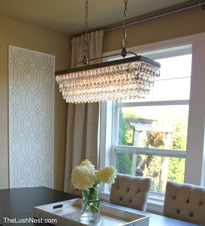 Rectangular Wrought Iron Chandelier Pictures Of Dining: Rectangle Chandelier Drops - Google Search
