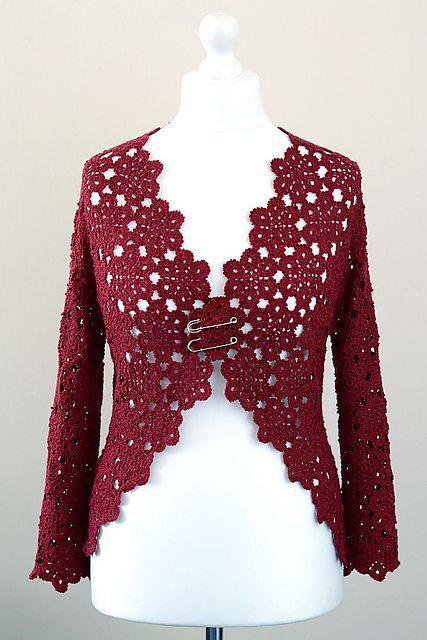 Halyna Cardigan pattern by Yuliya Tkacheva   Pinterest
