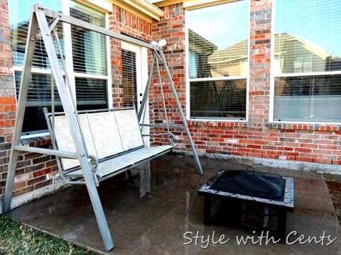Spray Paint Your Old Rusty Worn Patio Furniture Or Porch