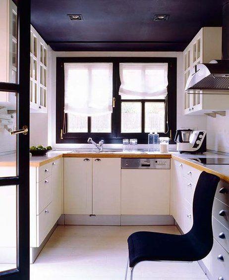 Minicocinas ba os y demases en 2019 cocinas modernas - Cocinas en forma de u pequenas ...