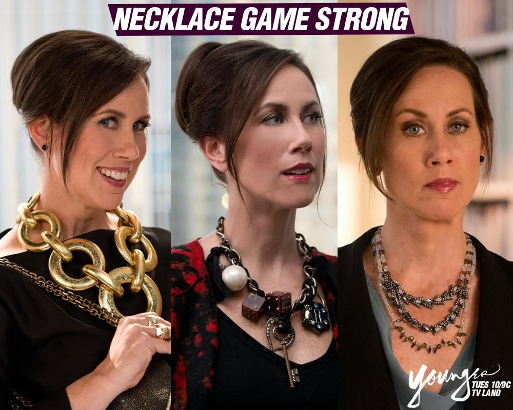 Diana's necklaces never disappoint. Which one of these is ...