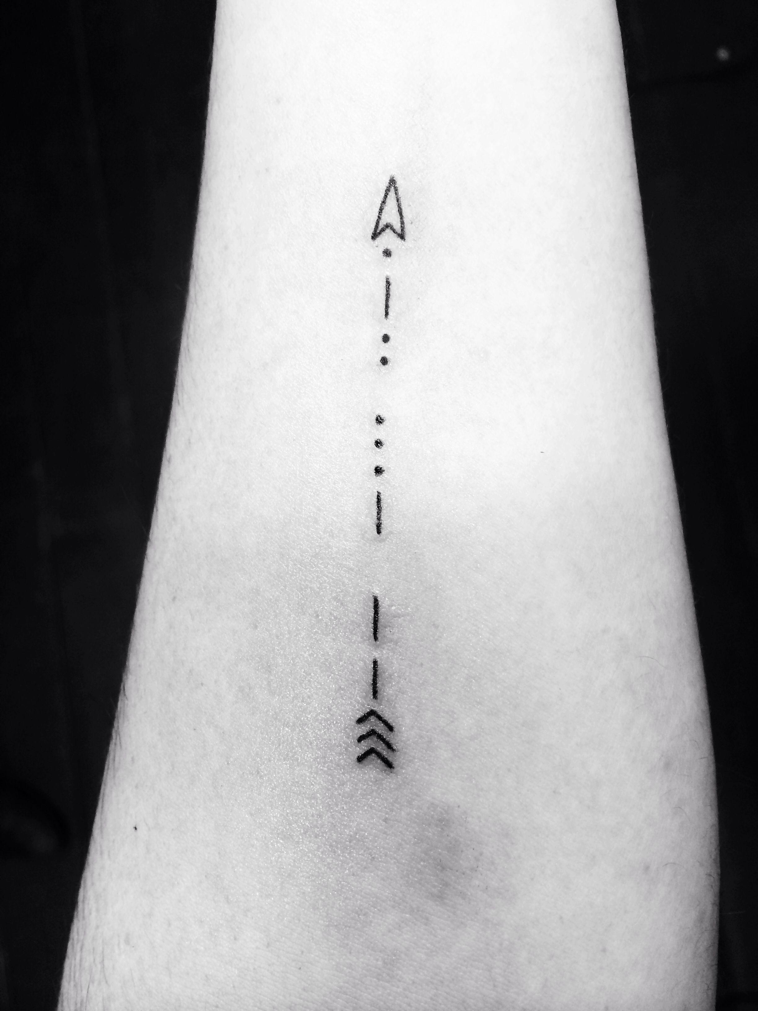 My morse code arrow | tattoo ideas | Pinterest | Morse code, Arrow ...