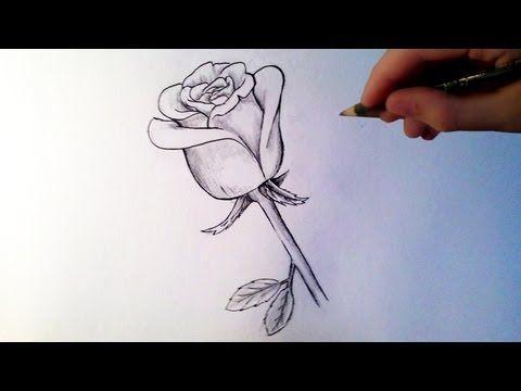 comment dessiner une rose tutoriel cours de dessin peinture illustration pinterest. Black Bedroom Furniture Sets. Home Design Ideas