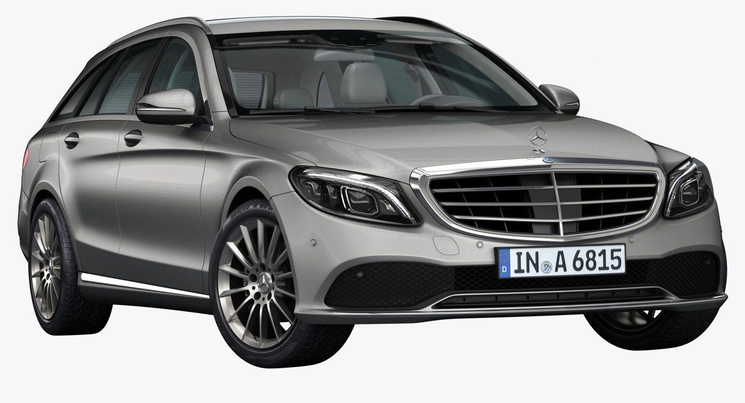 2019 Mercedes Benz C Class Estate 3d Model Benz C Mercedes Benz Benz