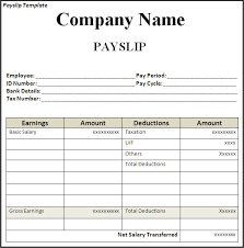 Image Result For Salary Slip Format In Excel With Formula Payroll Template Project Management Templates Payroll