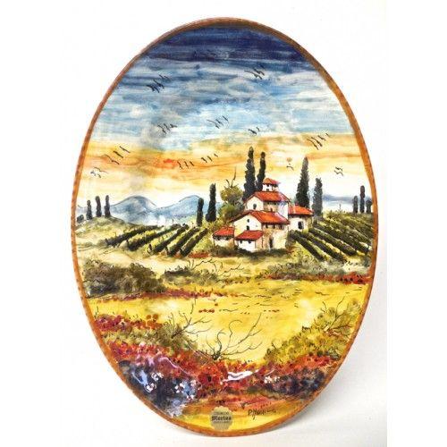 Tuscan Landscape 10.5X14.5\