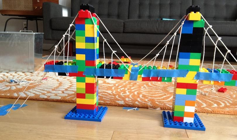Image result for lego bridge stem activity