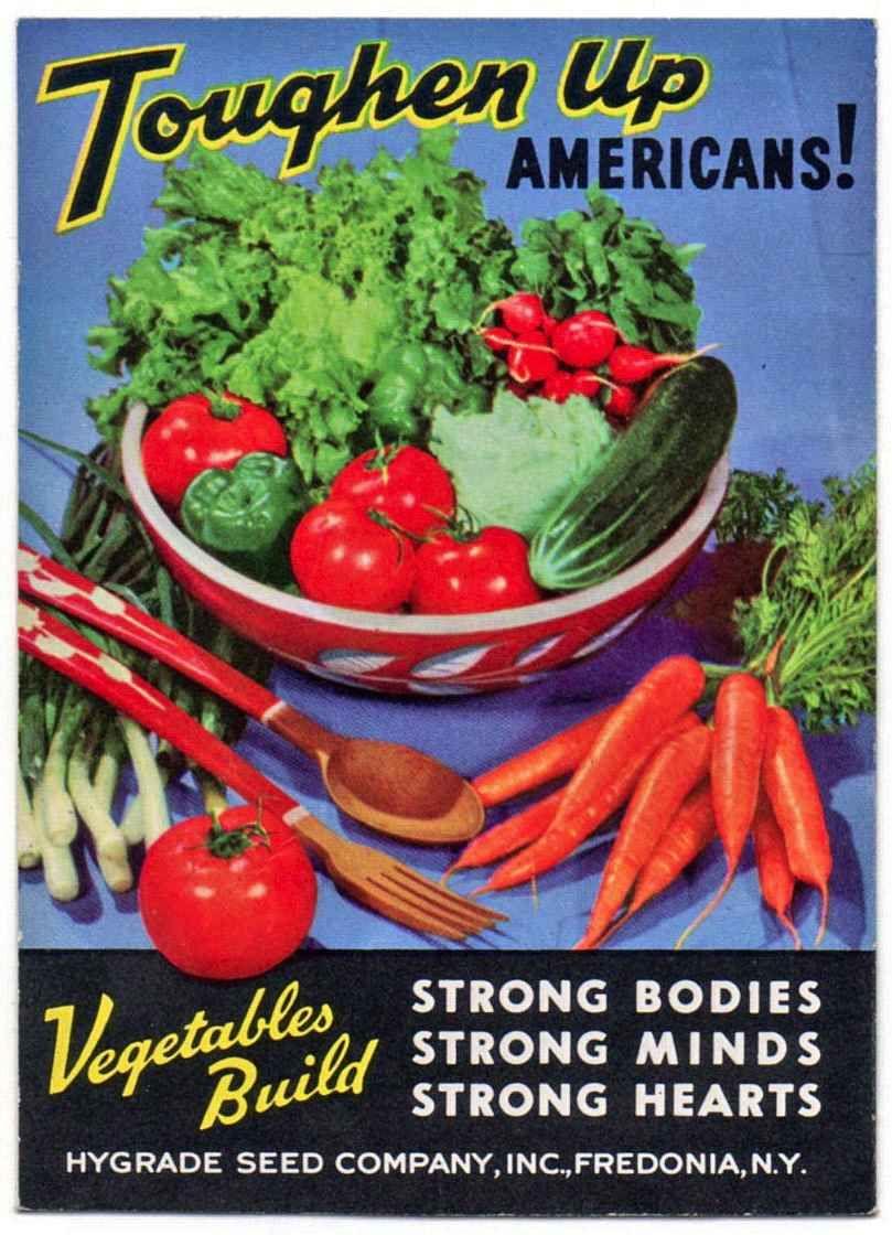 1940s Vegetables