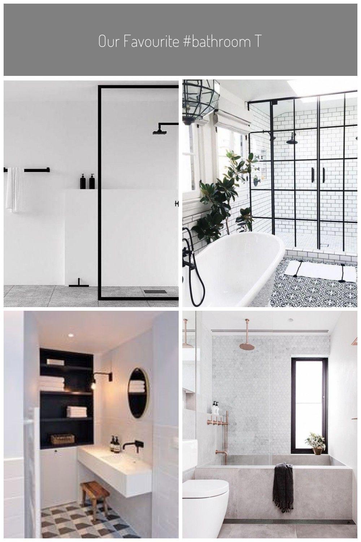 Our Favourite Bathroom Trends From Pinterest White Black Grey Badezimmer Skandinavisch Schwarz In 2020 Bathroom Trends Bathroom Trending