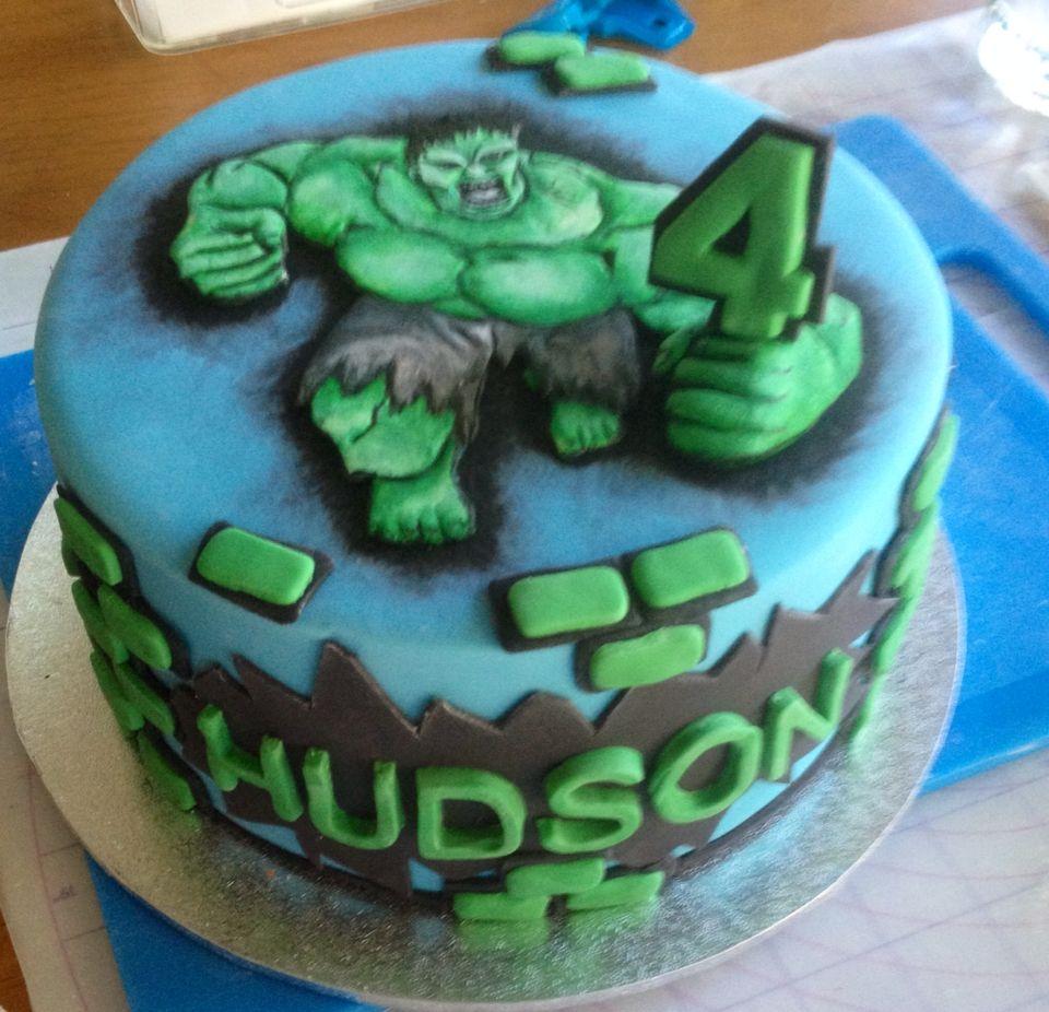 Hulk cake Novelty Cakes Pinterest Hulk cakes Cake and Super