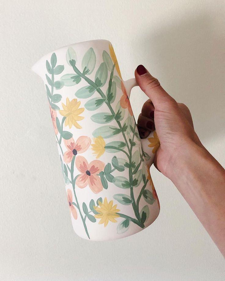Biskuit # Keramik, # Vase #in #Prozess #tazasceramica