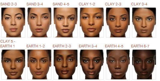 POPULAR BASE MAKEUP FOR DARK SKIN. makeup darkskin