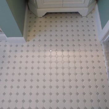 The Daltile Octagon And Dot 2 Quot X 2 Quot Mosaic In Matte