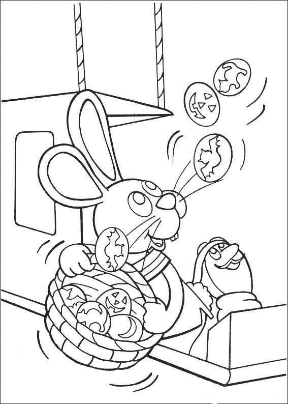 Desenhos para pintar Peter Cottontail 50