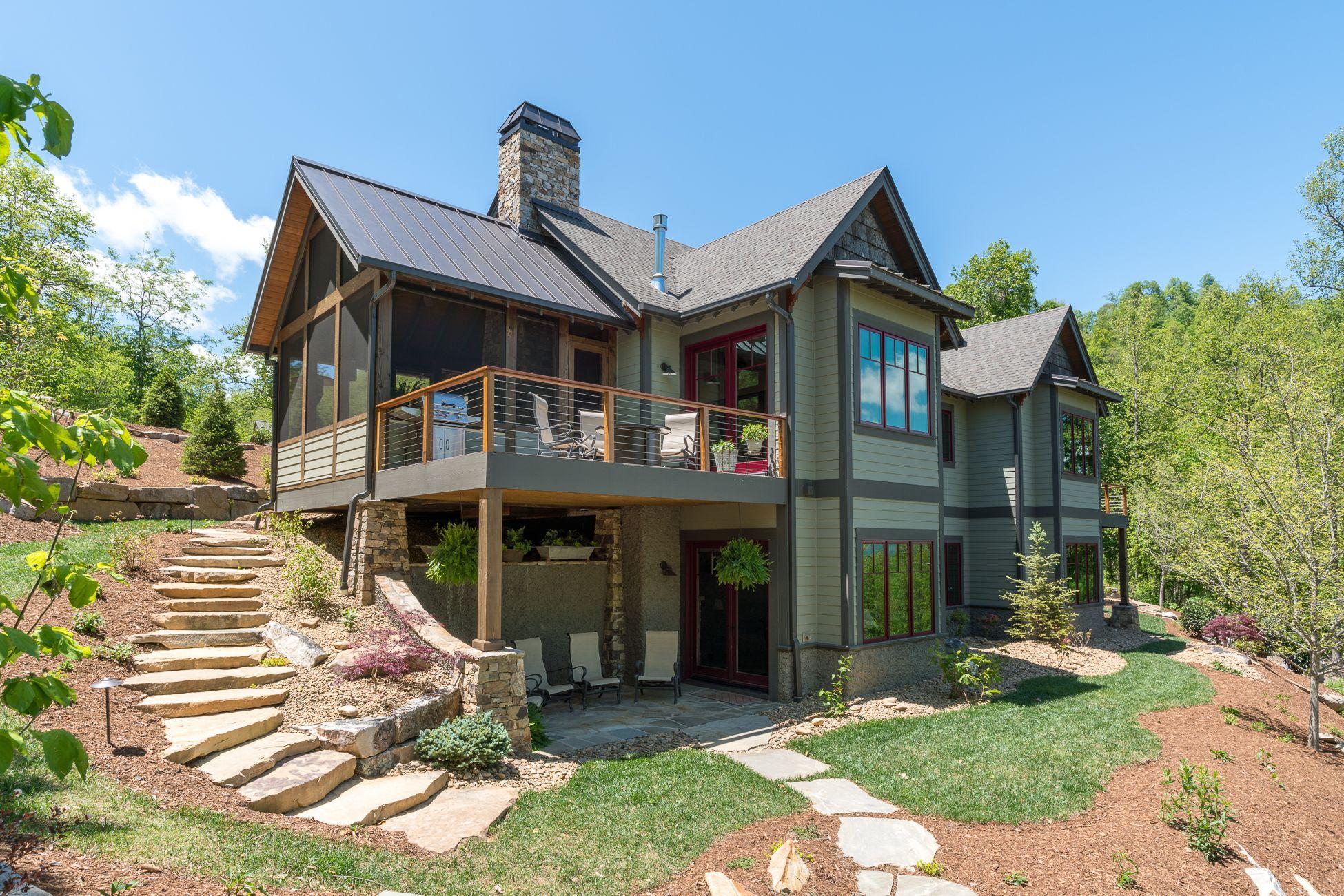 Craftsman Home Designed For The Mountains Of Western North Carolina.  Designed By ACM Design,