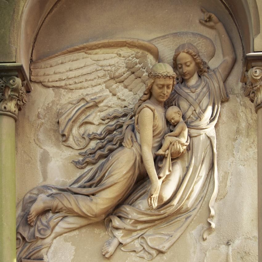 13 Pictures of Angel Statues at Cemeteries #greekstatue