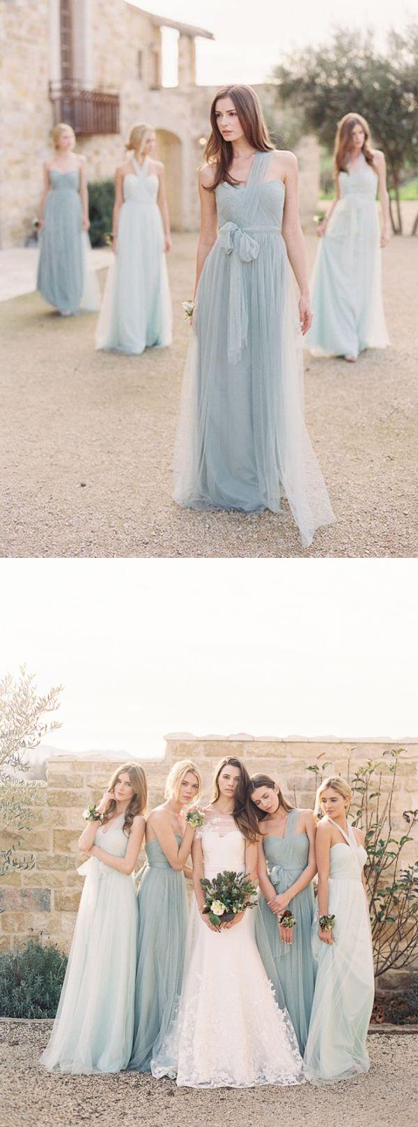 bridesmaid dresses one shoulder cheap long simple bridesmaid