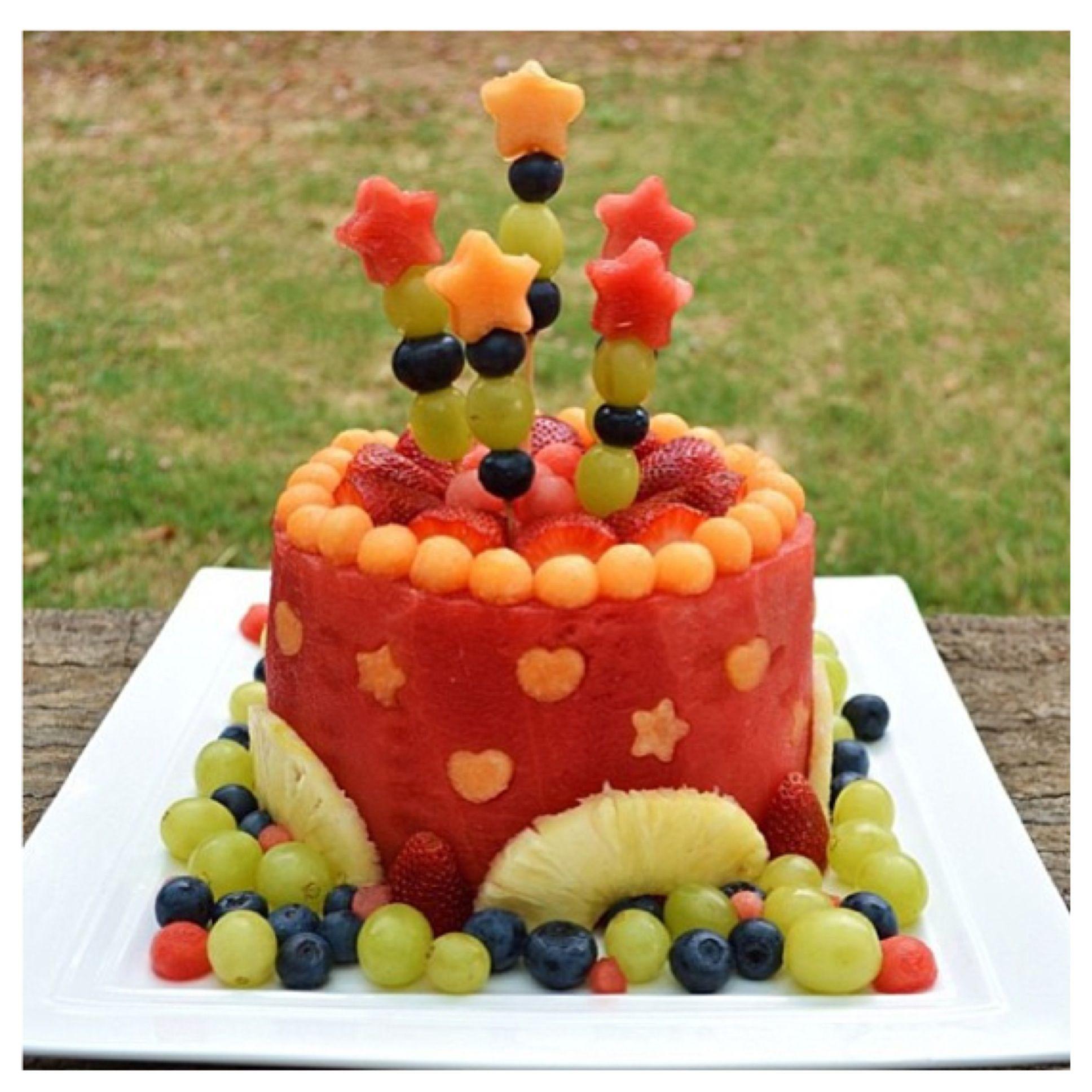 Fabulous Watermelon Ideas For Summer BBQs Watermelon cakes Cake