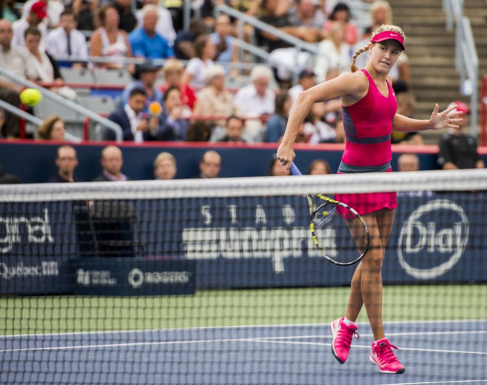 Eugenie Bouchard Tennis tips, Tennis stars, Eugenie bouchard