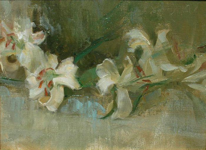 Lilies by Johanna Harmon