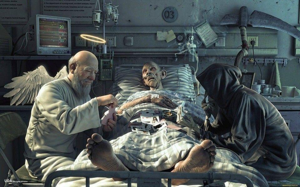 La vida y la muerte jugando cartas | Muerte, Jugando a las cartas ...