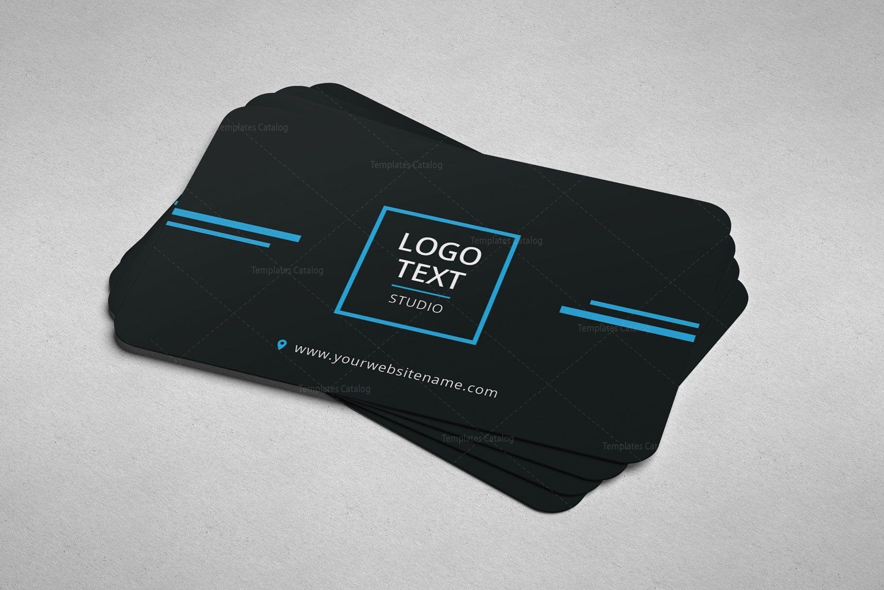 Minimal Programmer Business Card Design Graphic Templates In 2020 Graphic Design Business Card Business Card Design Card Design
