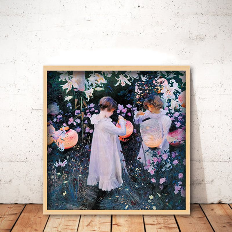 diy painting by numbers john singer sargent Carnation