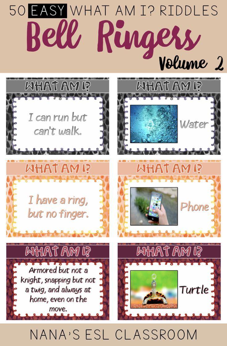 Bell Ringers Brain Teasers Easy Riddles for Teens Volume 2