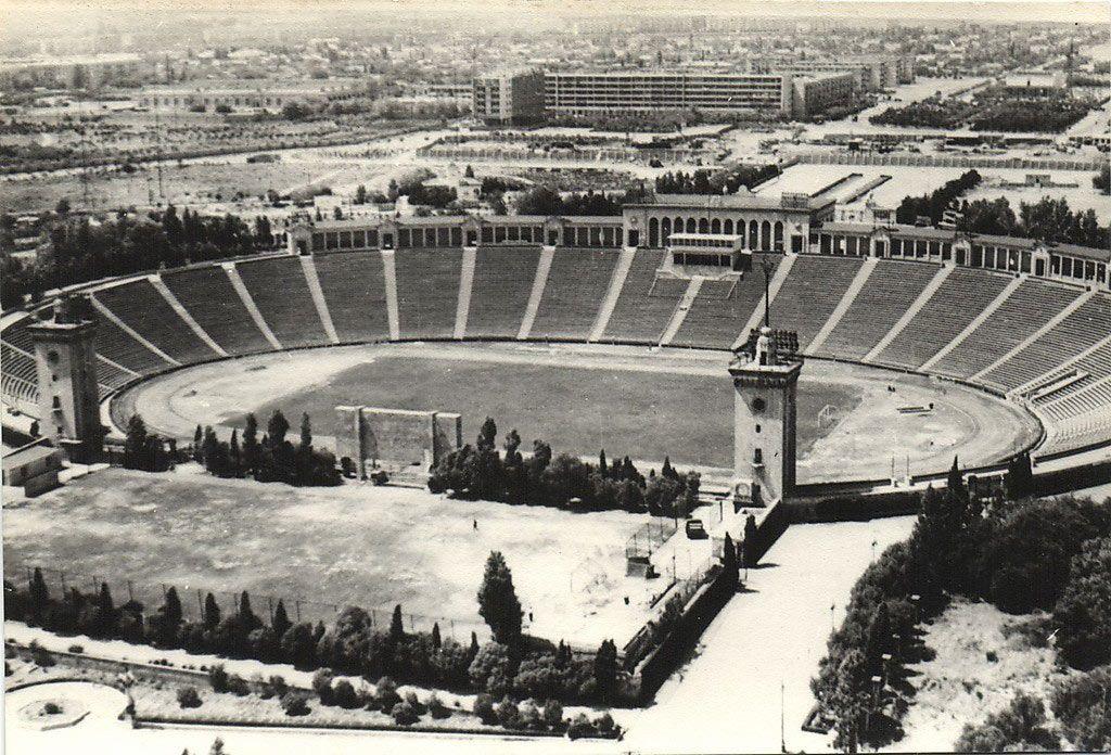 Tofiq Bəhramov Adina Respublika Stadionu Baku 1950s Baku Paris Skyline History