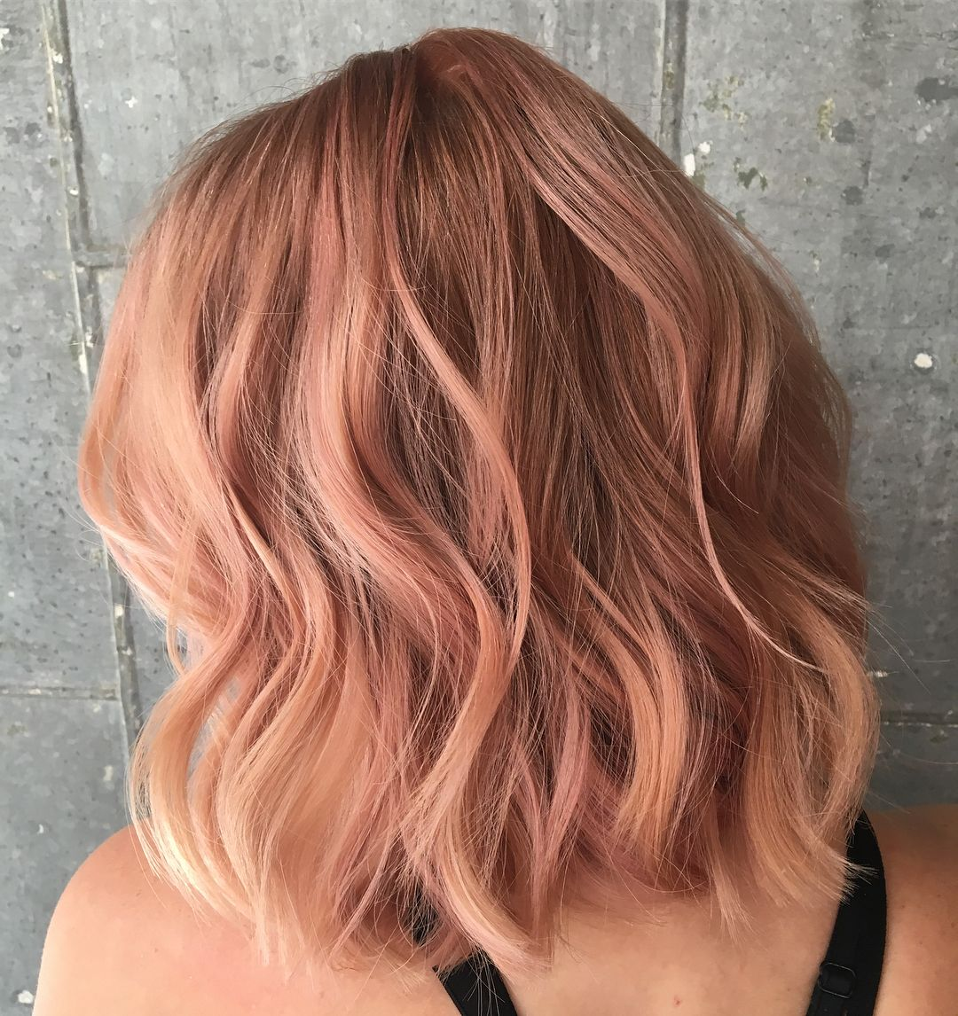 Rosegold With Copper Undertones Colorists