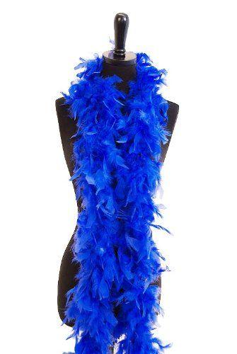 Amazon Com Blue Feather Boa Flapper Fashion Accessory Standard Standard Clothing Feather Boa Blue Feather Feather
