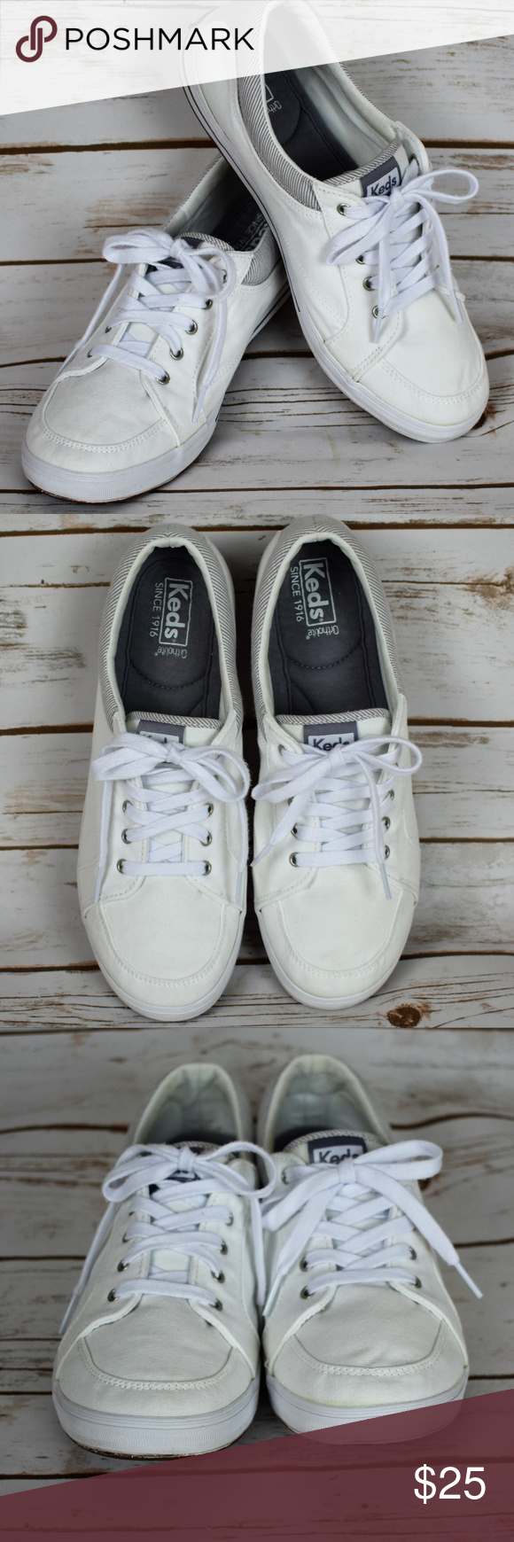 Keds Vollie II Canvas White sneaker