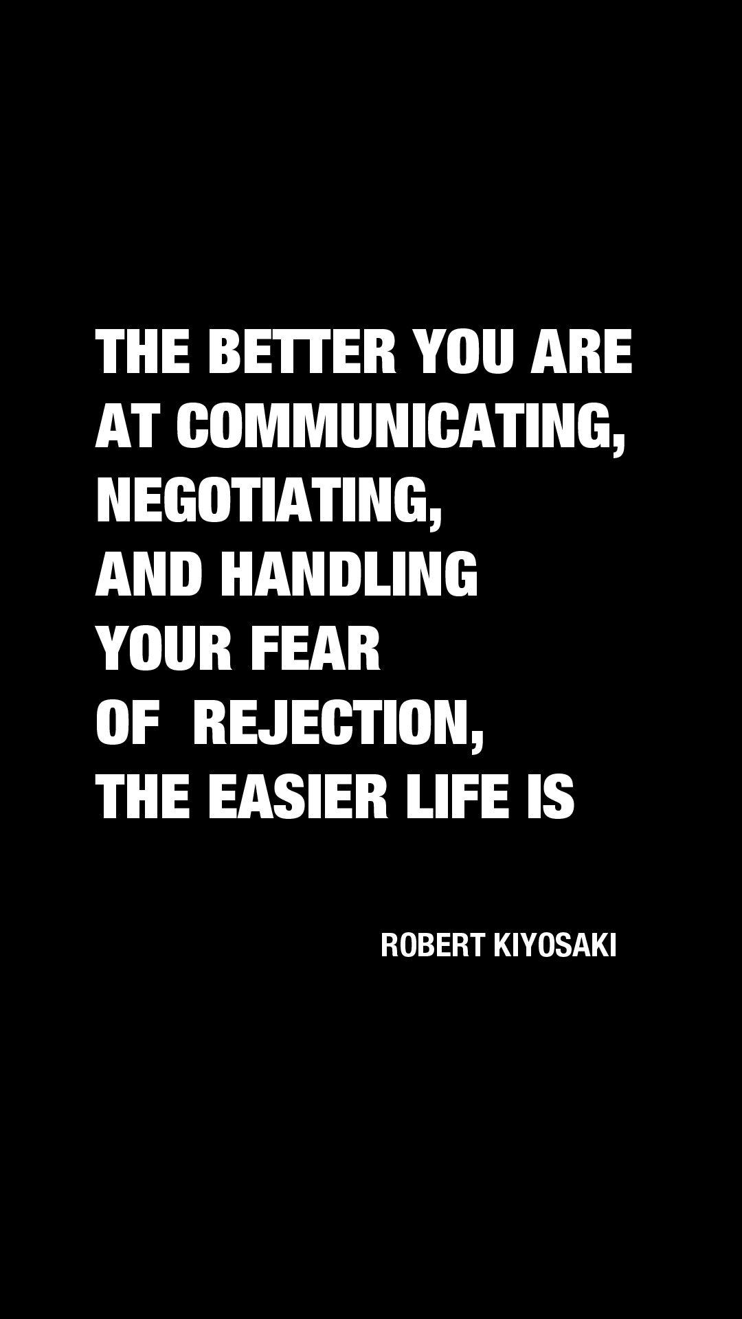 Robert Kiyosaki Business Motivation Motivate Quote