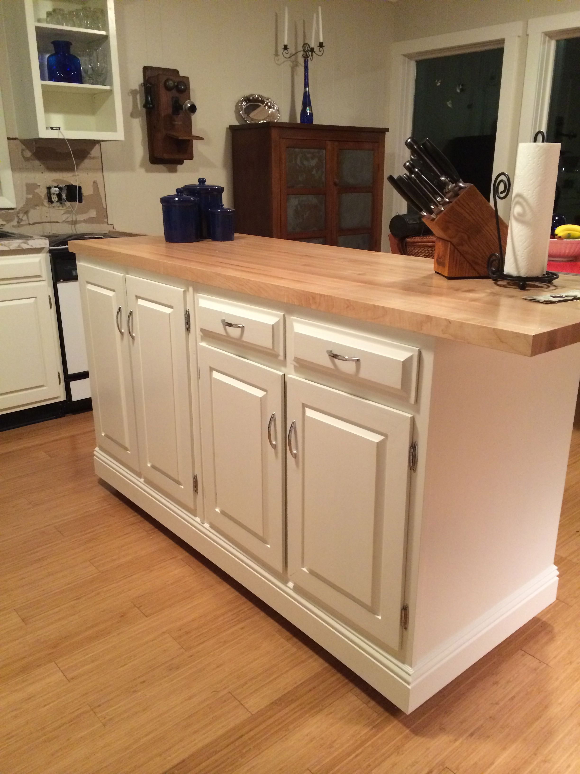 Idea Kitchen Island Fritz And My Creative Idea Kitchen Island We Designed From