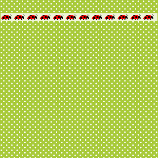 FREE printable green polka dot and ladybird paper: DIY gift wrapping paper!!