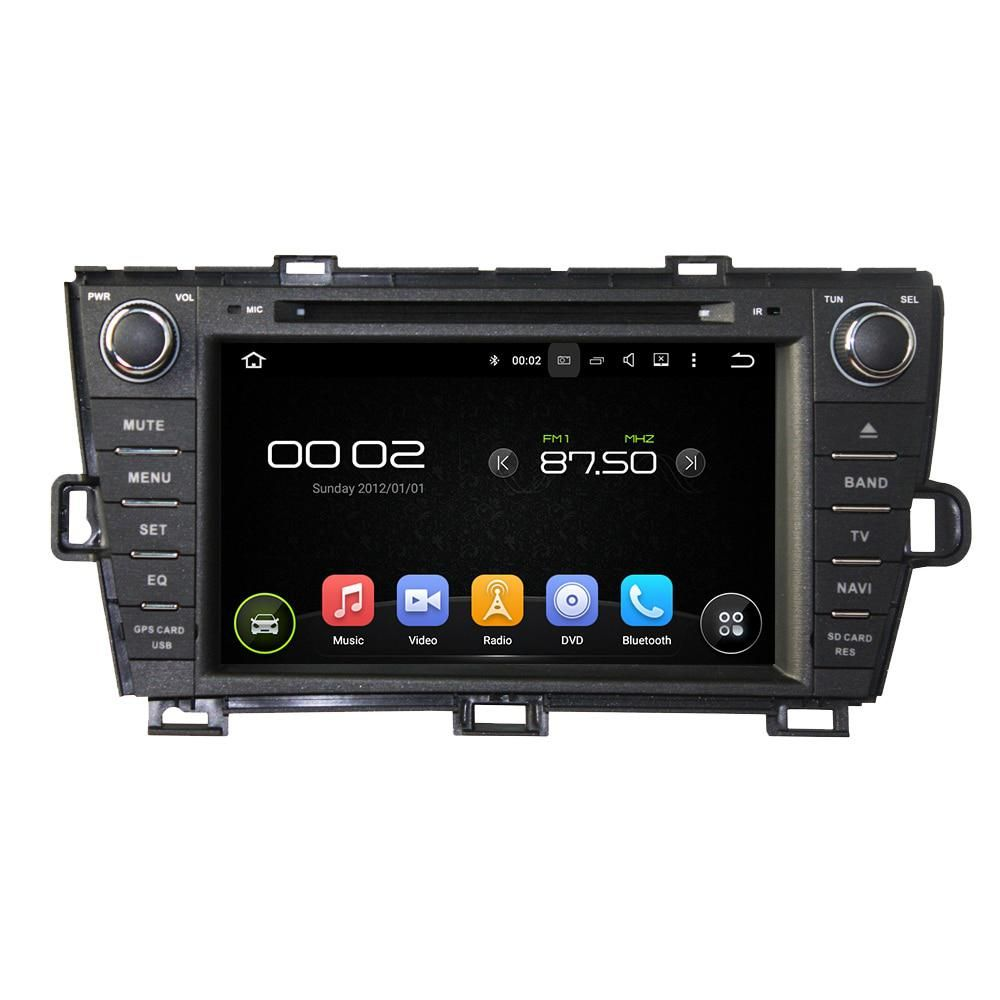 8 Octa Core Android 6 0 Car Multimedia Player For Toyota Prius