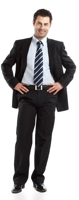 Help for business attire for men, a lot of great advice
