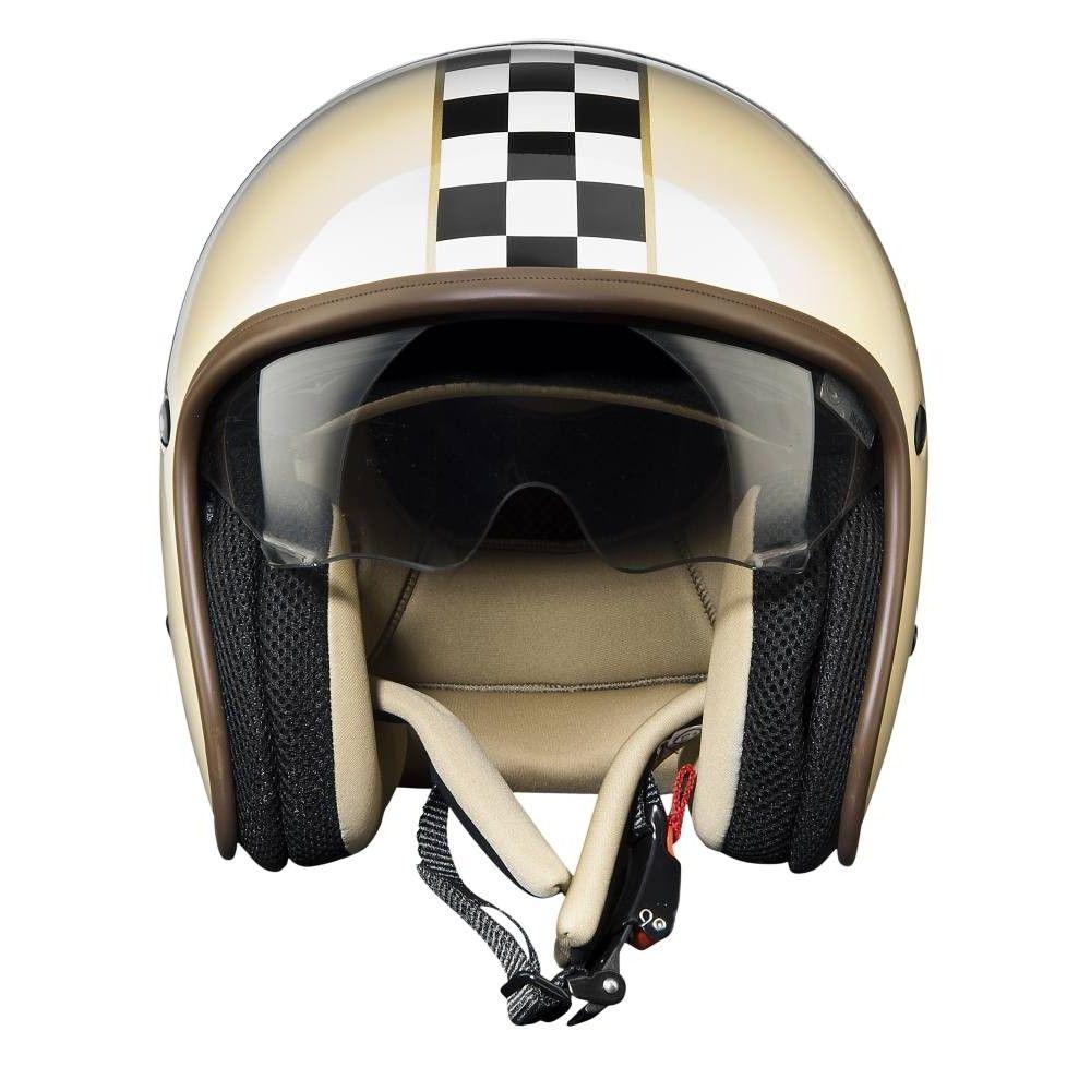 Premier Jet Vintage Helmet Ck Cream Open Face Motorcycle Helmets Free Uk Delivery Vintage Helmet Cafe Racer Helmet Helmet