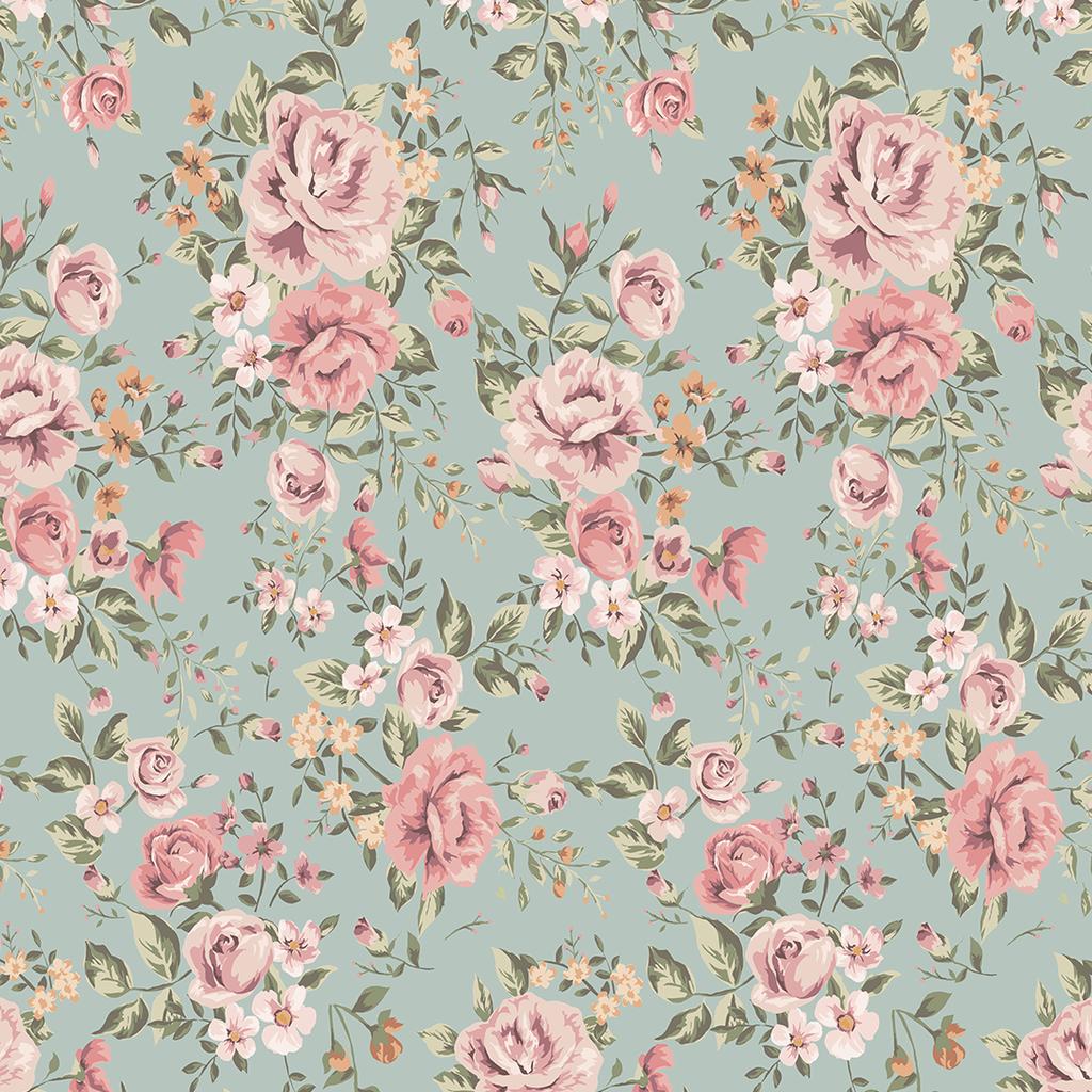 Cutesie Floral Wallpaper Mural Vintage Floral Wallpapers Floral Wallpaper Vintage Floral Pattern Wallpaper