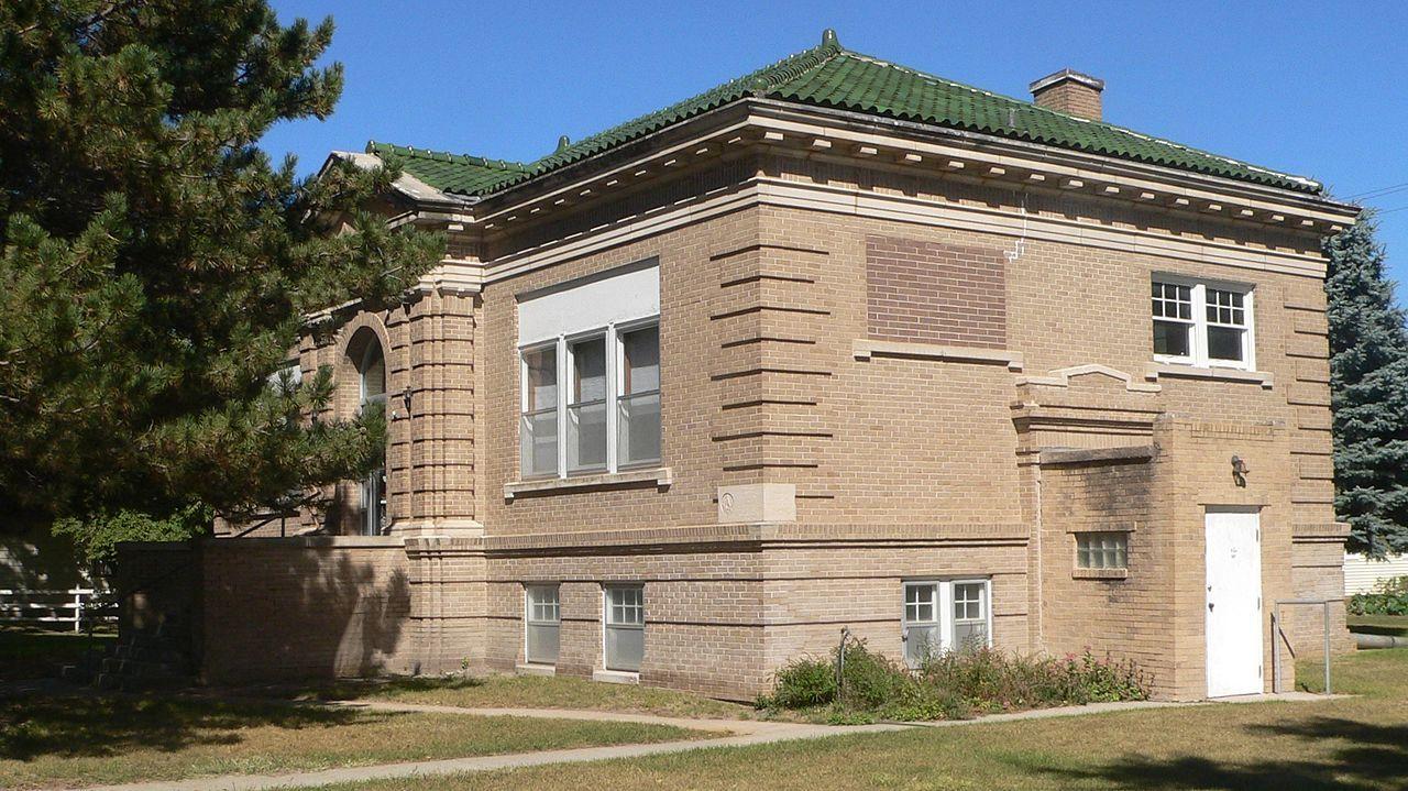Finch Memorial Library in Custer County, Nebraska