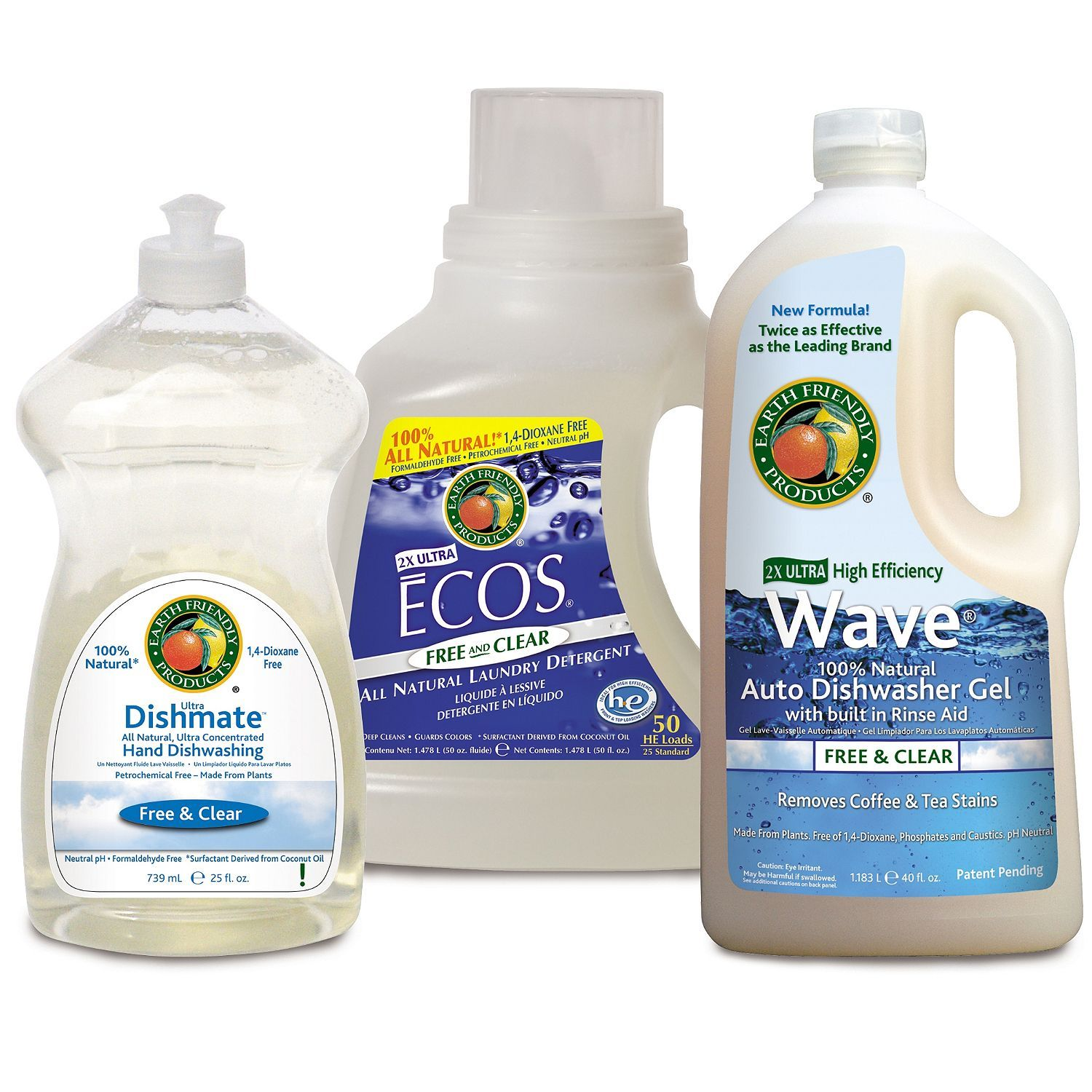 Earth friendly products free and clear cleaning kit sam