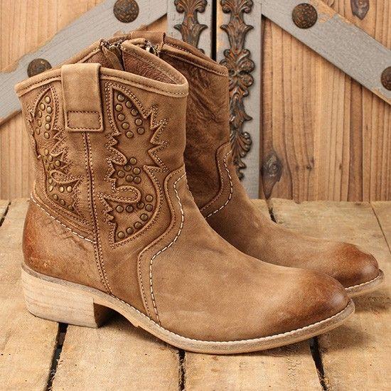 Taos Ladies' Tan Pride Boots