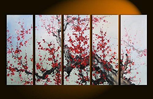 Cherry Blossom Art From Soda Bottle In 11 Easy Steps Cute Diy Projects Canvas Art Wall Decor Simple Oil Painting Blossoms Art