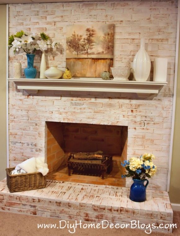 43+ Distressed white brick fireplace ideas in 2021