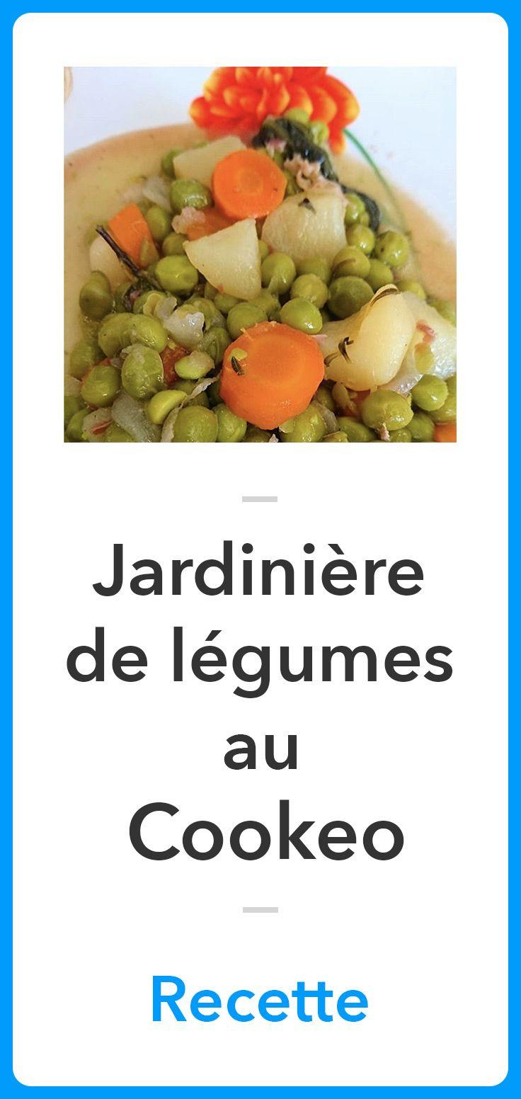 Jardinière de légumes au Cookeo | Recette (avec images) | Recette jardinière de légumes, Recette ...